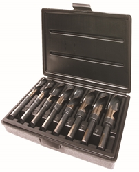"8 Piece Drill Set - T98C Size: 9/16""-1"" by 16ths"