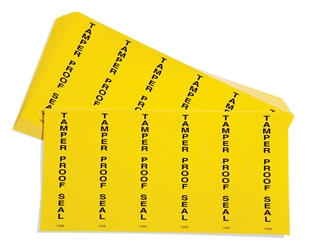 Tamperproof Seal Labels