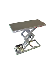 "AMERICAN COMPACT SCISSORS LIFT- 72 Travel, 82"" Raised Height, 4000 Cap. (lbs.)"