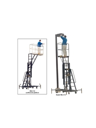 "300 LB. ONE PERSON MAINTENANCE LIFT- 15 Platform Height Max., 20 x 28"" Platform LxW"