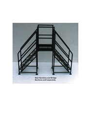 "FIXED CROSSOVERS - BRIDGE SECTIONS- Expanded Metal, 27"" Overall Width, 30"" Length, 28"" Horizontal Clearance"