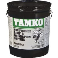 30001274 Tamko Non-Fibered Roof And Foundation Coating 30001274, Tamko Nonfibered Roof And Foundation Coating - 4.75 Gallons