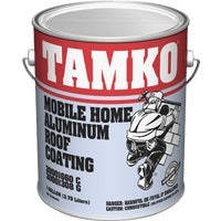 30001660 Tamko Fibered Aluminum Mobile Home Roof Coating 30001660, TAMKO Fibered Aluminum Mobile Home Roof Coating - 1 GL