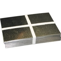 31410-GV10 Klauer Galvanized Step Flashing Shingle 31410-GV10, Galvanized Step Flashing Shingle