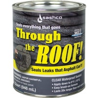 14023 Through The Roof! VOC Cement & Patching Sealant 14023, Through the Roof! Cement & Patching Sealant - QT VOC CLR ROOF SEALANT