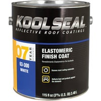 KS0063300-16 Kool Seal 7-Year White Elastomeric Roof Coating KS0063300-16, White Elastomeric Roof Coating