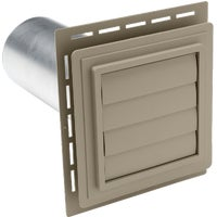 EXVENT PC Ply Gem Louvered Exhaust Vent
