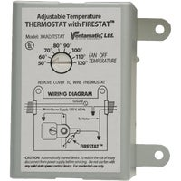 XXFIRESTAT Ventamatic Power Attic Vent Thermostat with Firestat XXFIRESTAT, Ventamatic Power Attic Vent Thermostat with Firestat