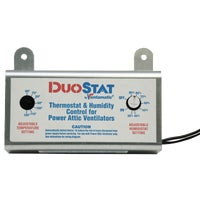 XXDUOSTAT Ventamatic Power Attic Vent Thermostat and Humidistat XXDUOSTAT, Ventamatic Power Attic Vent Thermostat and Humidistat