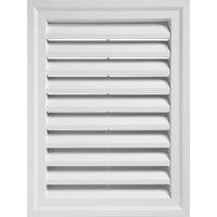 "RECTGV2430 PW 24"" x 30"" Rectangular Gable Vent 24"" x"