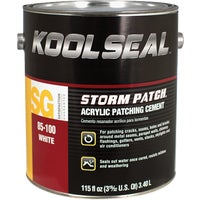 KS0085100-16 Kool Seal Storm Patch White Acrylic Patching Cement KS0085100-16, KS0085100-16 White Acrylic Patching Cement