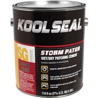 KS0083300-16 Kool Seal Storm Patch Black All-Weather Rubberized Cement KS0083300-16, KS0083300-16 Storm Patch Black All-Weather Rubberized Cement