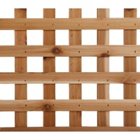 L3150 Real Wood Products Heavy-Duty Privacy Cedar Lattice Panel lattice panel