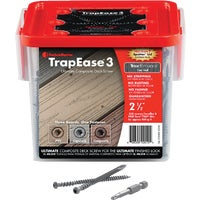 FMTR3-212-350ENBD FastenMaster TrapEase 3 Ultimate Composite Deck Screw deck fastenmaster screws trapease