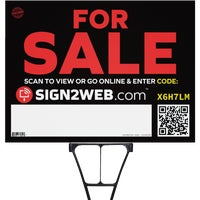 E-1824-FS Sign2Web For Sale Sign