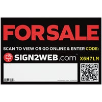 E-1218-FS Sign2Web For Sale Sign