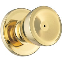 GAC331 B3 MS 6LR1 Weiser Beverly Bed & Bath Knob GAC331 B3 MS 6LR1, Beverly Privacy Knob Lockset