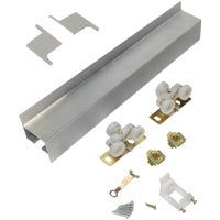 2610F721 Johnson Hardware Wall Mount Barn Door Hardware Kit
