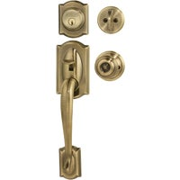 F60VCAMXGEO609 Schlage Camelot Entry Handleset