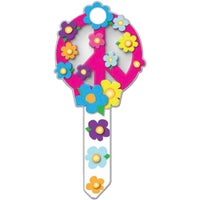 B104K Lucky Line Key Shapes Decorative House Key