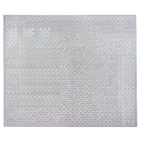 57208 M-D Union Jack Perforated Aluminum Sheet Stock sheet stock