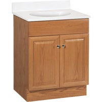 "C14024A Continental Cabinets Richmond Vanity with Top C14024A, Richmond 24"" Vanity & Top Combo"