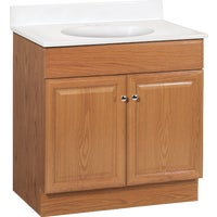"C14030A Continental Cabinets Richmond Vanity with Top C14030A, Richmond 30"" Vanity & Top Combo"