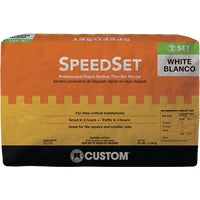 SDSW25 Custom Building Products SpeedSet Fortified Thin-Set Mortar SDSW25, Custom SpeedSet Fortified Thin-Set Mortar