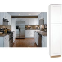 CBKP1884-SW Continental Cabinets Hamilton Double Door Pantry Cabinet