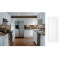 CBKW1230-SW Continental Cabinets Hamilton Single Door Wall Kitchen Cabinet
