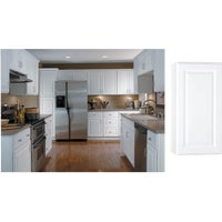 CBKW1530-SW Continental Cabinets Hamilton Single Door Wall Kitchen Cabinet