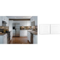 CBKW3015-SW Continental Cabinets Hamilton Double Door Bridge Wall Kitchen Cabinet