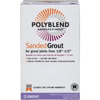 PBG117-4 Custom Building Products Polyblend Sanded Tile Grout grout tile
