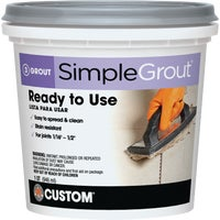PMG333QT Custom Building Products Simplegrout Tile Grout grout tile