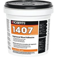 1407-1 Roberts Acrylic Latex Wood Floor Adhesive 1407-1, Roberts Acrylic Latex Wood Floor Adhesive