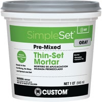 CTTSGQT Custom Building Products SimpleSet Pre-Mixed Thin-Set Mortar CTTSGQT, Custom Simpleset Pre-Mixed Ceramic Thin-Set Mortar