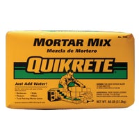 110260 Quikrete Mortar Mix For Masonry mix mortar