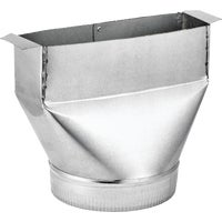 133 Lambro Range Hood Round Transition Boot 133, Transition