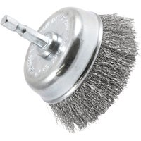 72732 Crimped Wire Cup Drill-Mounted Wire Brush 72732, Crimped Wire Cup Drill-Mounted Wire Brush