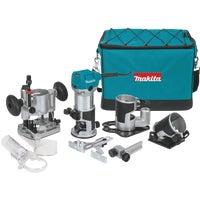 RT0701CX3 Makita 1-1/4 HP Compact Router Kit kit router