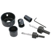 721091 Mibro 6-Piece Ceramic Hole Saw Set 721091, Mibro 6-Piece Ceramic Hole Saw Set