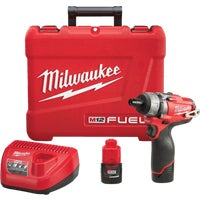 2402-22 Milwaukee M12 FUEL Lithium-Ion Brushless Cordless Screwdriver Kit cordless screwdriver