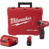 2553-22 Milwaukee M12 FUEL Lithium-Ion Brushless Cordless Impact Driver Kit 2453-22, Milwaukee M12 FUEL Brushless Lithium-Ion Cordless Impact Driver Kit