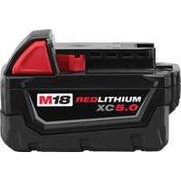 48-11-1850 Milwaukee M18 REDLITHIUM XC Li-Ion Tool Battery Milwaukee M18 REDLITHIUM XC Lithium-Ion Tool Battery