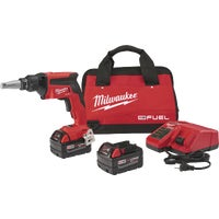 2866-22 Milwaukee M18 FUEL Lithium-Ion Brushless Drywall Cordless Screwgun Kit cordless screwgun