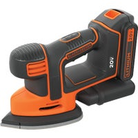BDCMS20C Black & Decker 20V MAX Lithium-Ion Mouse Cordless Finish Sander Kit