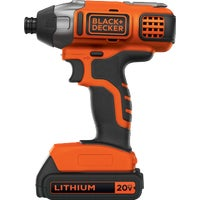 BDCI20C Black & Decker 20V MAX Lithium-Ion Cordless Impact Driver Kit