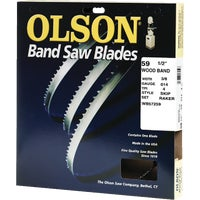 WB57259DB Olson Wood Cutting Band Saw Blade 57259, 57259 Olson Band Saw Blade