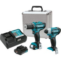 CT226RX Makita 12V Max CXT Li-lon Drill & Impact Cordless Tool Combo Kit CT226RX, Makita 12V Max Lithium-lon Drill and Impact Cordless Tool Combo Kit