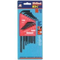 10018 18-Piece Combination Hex Key Set 10018, 18-Piece Combination Hex Key Set